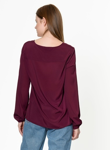 Vero Moda Bluz Antrasit